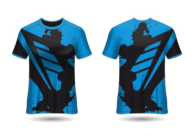 Tshirt sport design racing trikot für verein