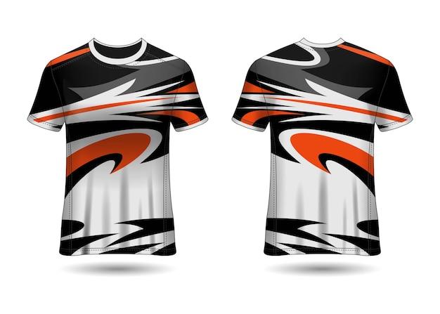 Tshirt sport design racing trikot vektor