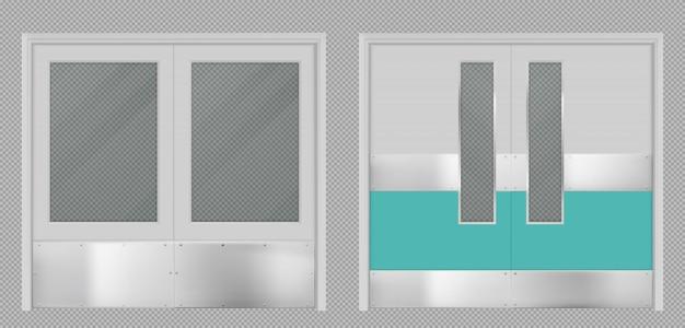 Türen für laborküche krankenhausschule oder lebensmittelproduktionslager