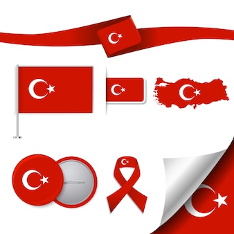 Türkei repräsentative elemente sammlung