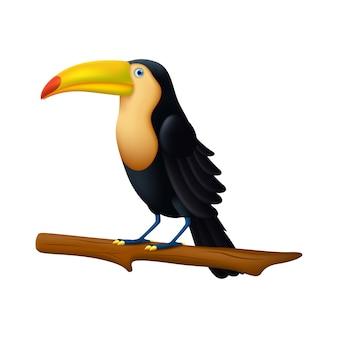 Tukan-vogelillustration