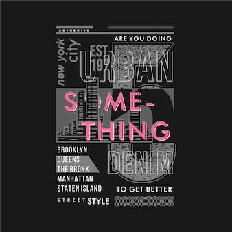 Tun sie etwas, um einen besseren typografie-vektor für den t-shirt-druck zu erhalten?