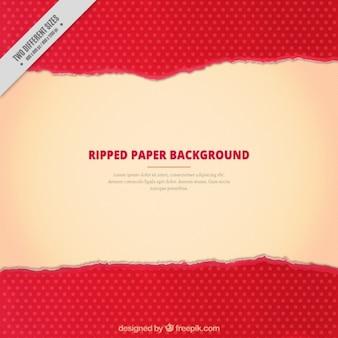 Tupfen hintergrund zerrissenes papier