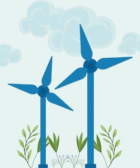 Turbine für erneuerbare energien