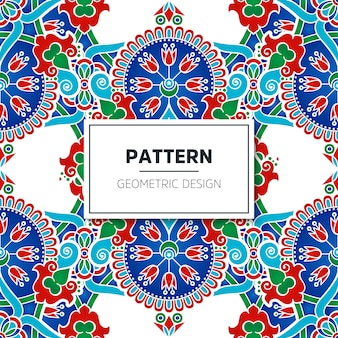 Türkisches nahtloses Muster
