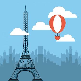 Turm eiffel französisch kultur