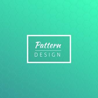 Turqoise pattern design