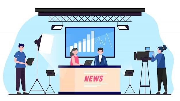 Tv-nachrichtensendung