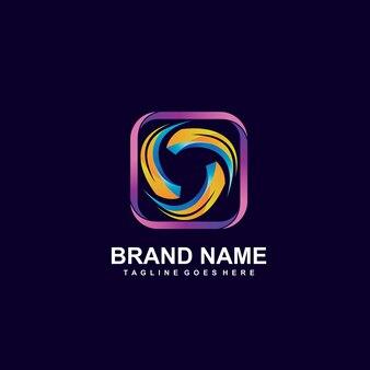 Twisted-wave-logo-design