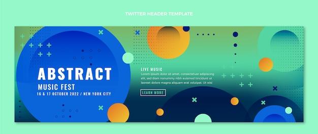 Twitter-header des bunten musikfestivals