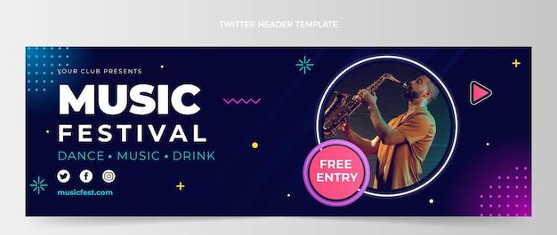 Twitter-header des gradientenmusikfestivals