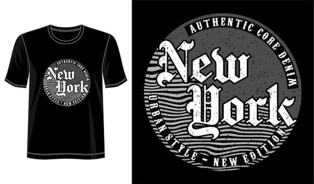 Typografie für print-t-shirt und mehr
