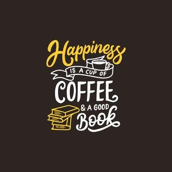 Typografie-kaffee-zitat