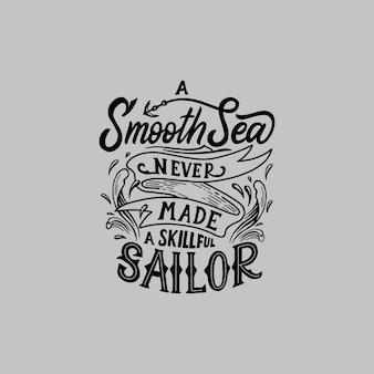 Typografie / schriftzug vektor design zitate