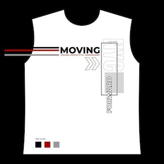 Typografie-t-shirt-design und mustervektor premium-vektor