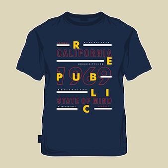 Typografiegraphik-t-shirts neues konzept