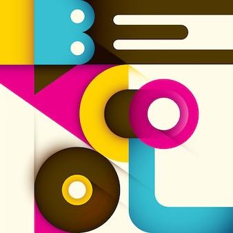 Typografische hintergrundgestaltung