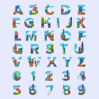 Typografisches alphabet
