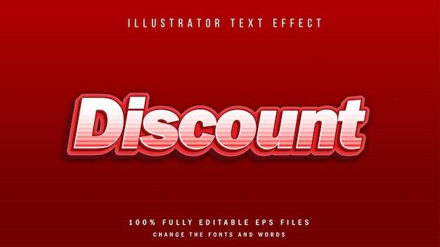 Typografisches design mit metallischem 3d-texteffekt