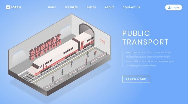 U-bahn-website homepage