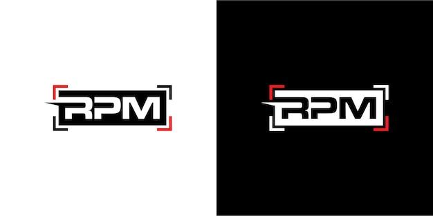 U/min-logo-design für automobile
