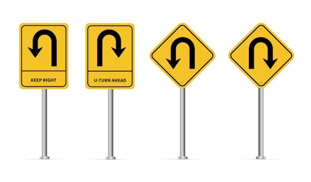 U-turn-zeichen