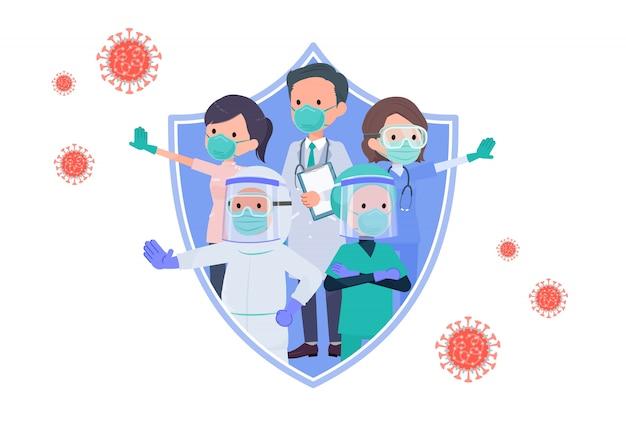 Über covid19_doctors, um weiß zurück zu schützen
