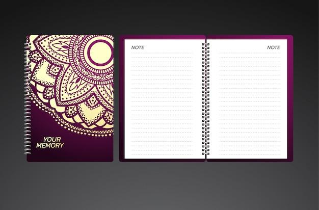 Über design für notebooks Premium Vektoren