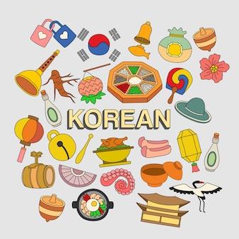 Über koreanisch doodle