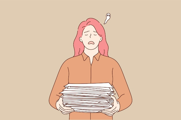 Überarbeitung des geschäftskonzepts für depressionen bei geistigem stress