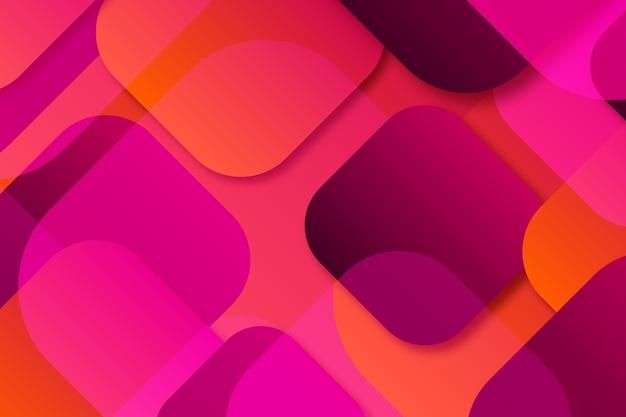 Überlappendes formenhintergrunddesign