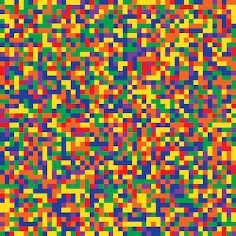 Überprüfen sie farbmosaikmuster-beschaffenheitshintergrund