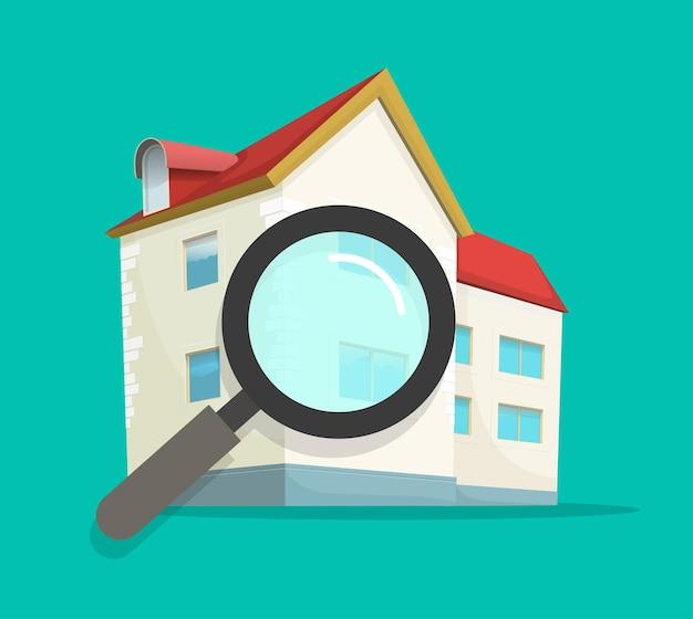 Überprüfung der inspektionsbewertung des wohnhauses