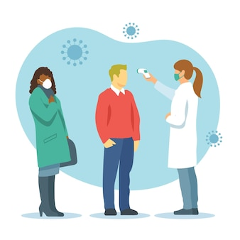 Überprüfung des körpertemperaturkonzepts