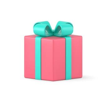 Überraschungsgeschenk lokalisiert auf weiß