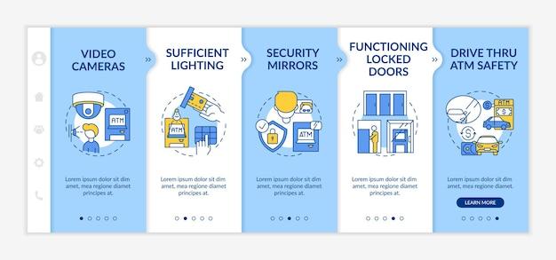 Überwachung der sicherheit von personen, die die mobile vorlage der app einbinden
