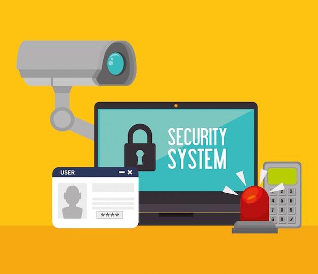Überwachungssicherheitssystem