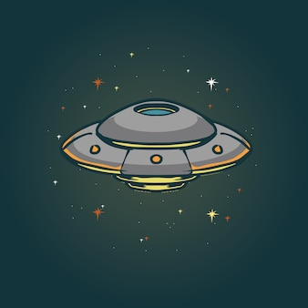 Ufo-illustration