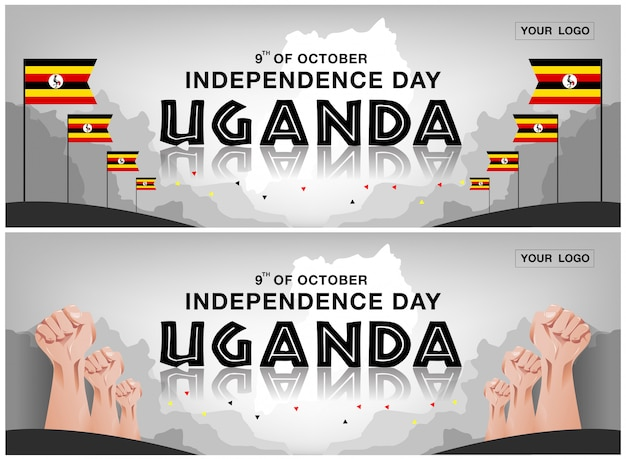 Uganda independence day hintergrund