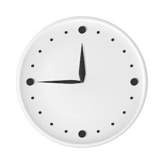 Uhr mit pfeilen schwarz-weiß-uhr