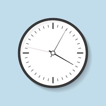 Uhr mit schatten