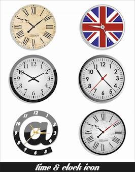 Uhrzeit und uhrzeit eingestellt