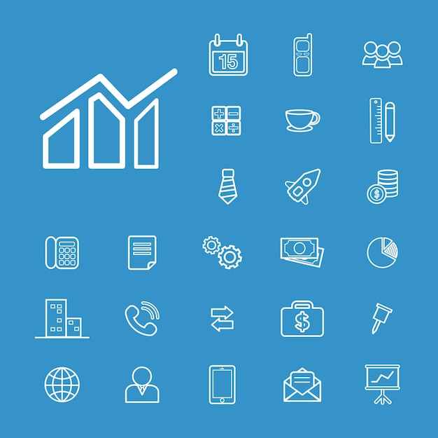 Ui-illustration businessl-finanzkonzept