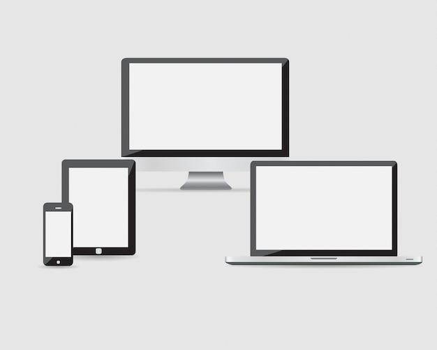 Ultimatives webdesign für elektronische geräte