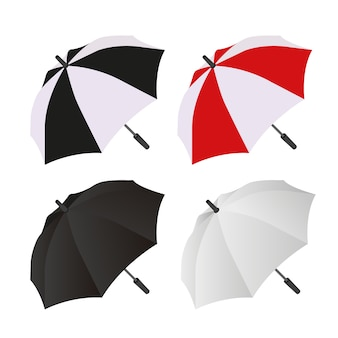 Umbrella designs sammlung