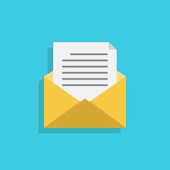Umschläge und dokumente