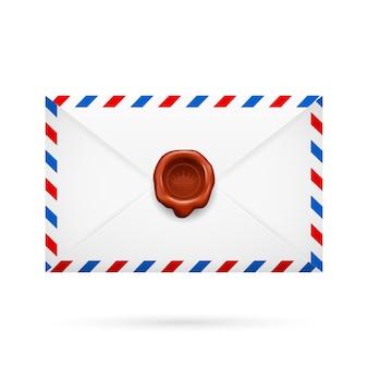 Umschlag mit stempel