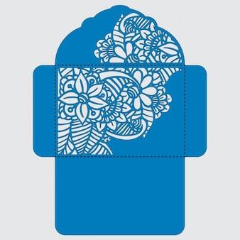 Umschlag template-design
