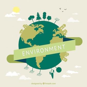 Umwelt-konzept