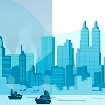 Umwelteinflüsse im städtischen leben